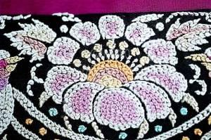 Khaka or forbidden stitch