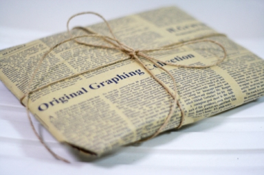 newsprintwrapping