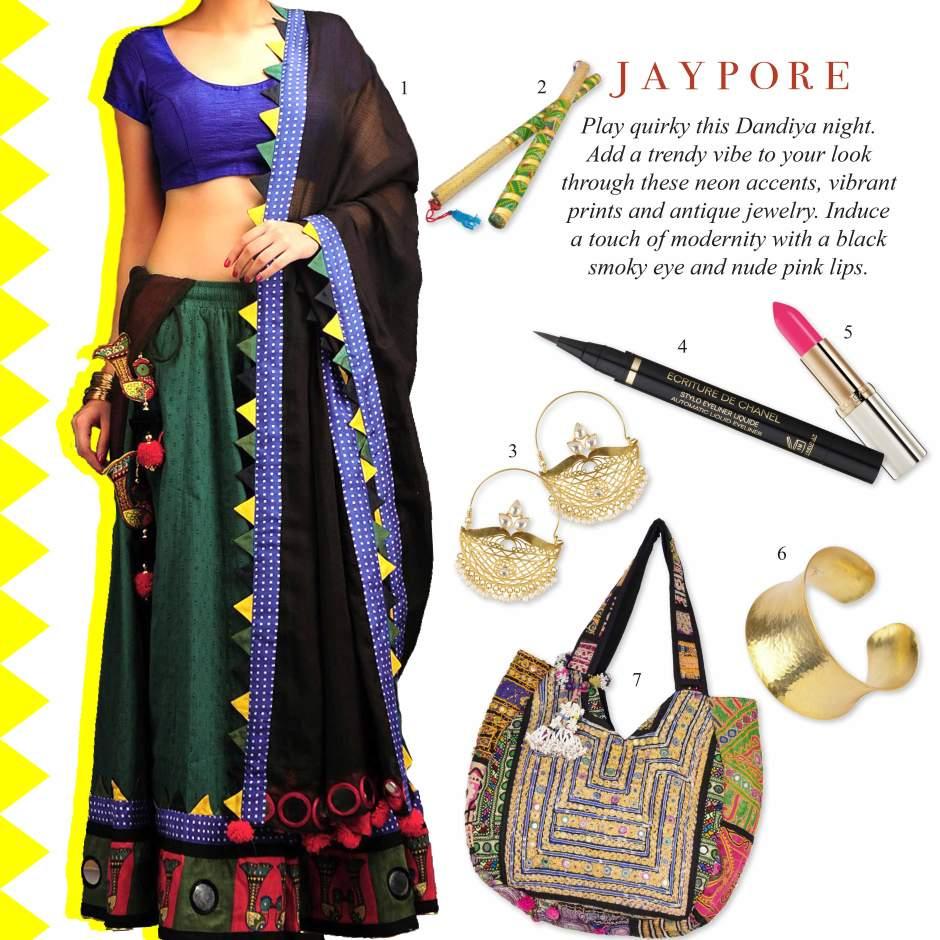 Dandiya-Look