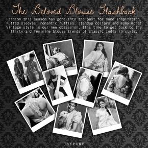 blouse lookbook high