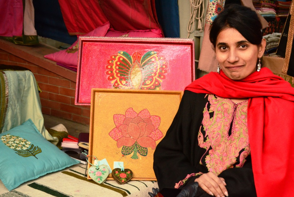 Heartwarming and eclectic papier mache paintings from 'Mohabbat' by Anjali Rana