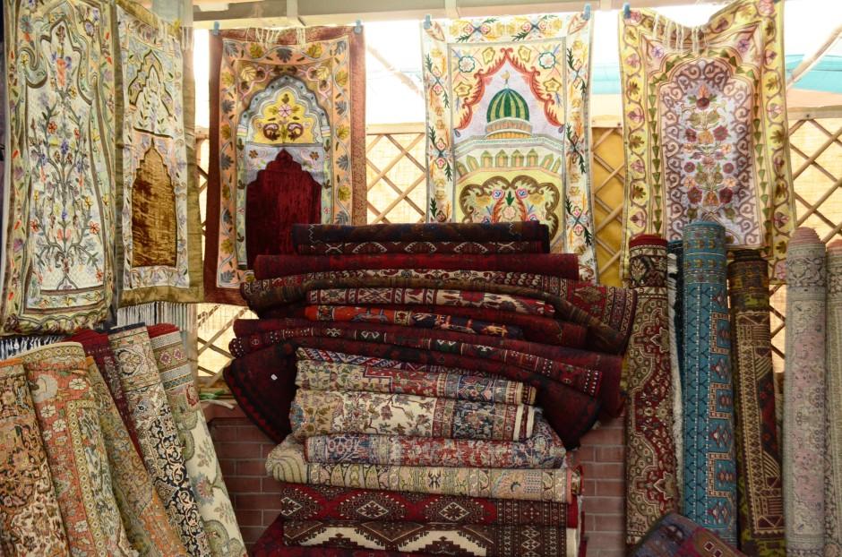 Old Persian Carpets and Mughal Jamawars from 'Khawaja Sons'
