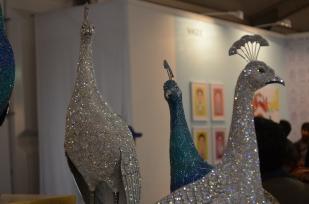 Clarita Brinkerhoff, Metal with Swarovski Crystals