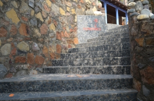 Steps leading to Design Festival