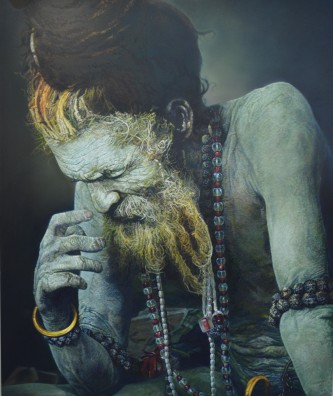Viveek Sharma, Weathering Heights, Oil on Canvas, 2014