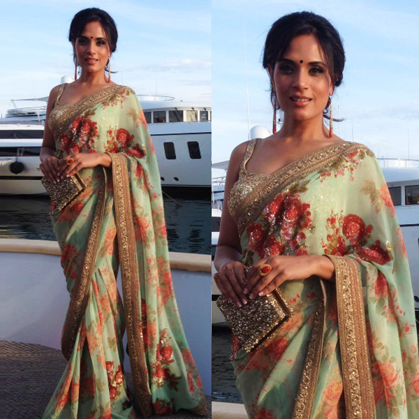 Richa Chadha at Cannes 2015