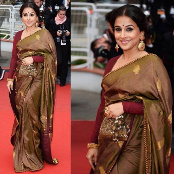 Vidya Balan at Cannes 2013
