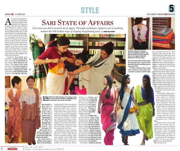 Sari State of Affairs