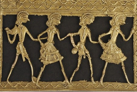 Metal Craft from Bastar as Wall Art