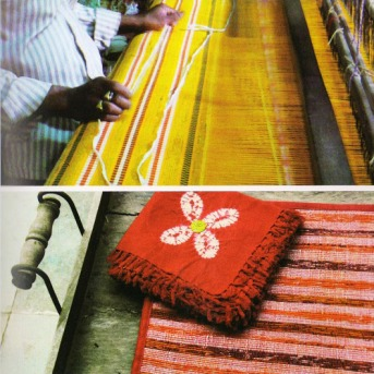 Weaving Yardage