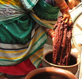 natural dyeing process (5)dyeing
