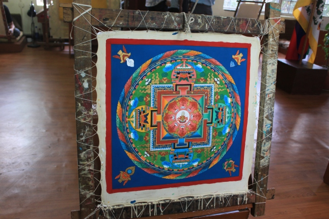 A Finished Thangka from Dharamshala, Himachal Pradesh