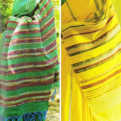 Contemporary Use of Khesh - Sarees