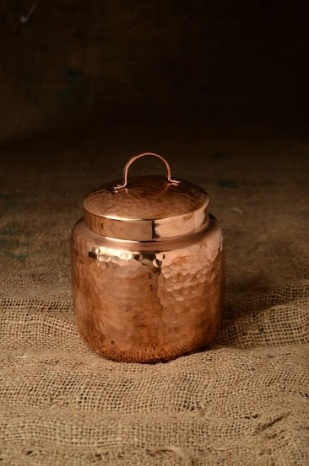 Hand Crafted Copperware Home Accent