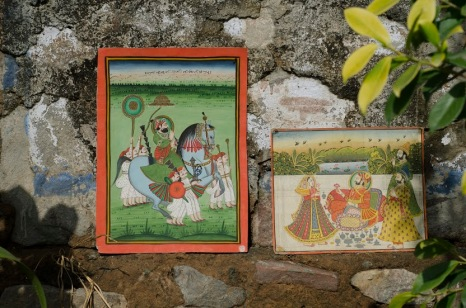 Framed Vintage Rajasthani Miniature Paintings