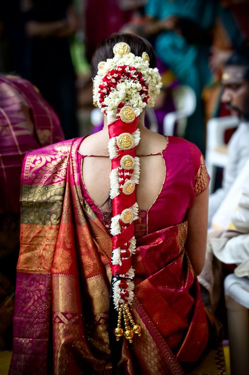 Tamil bride hair Indian Wedding Site