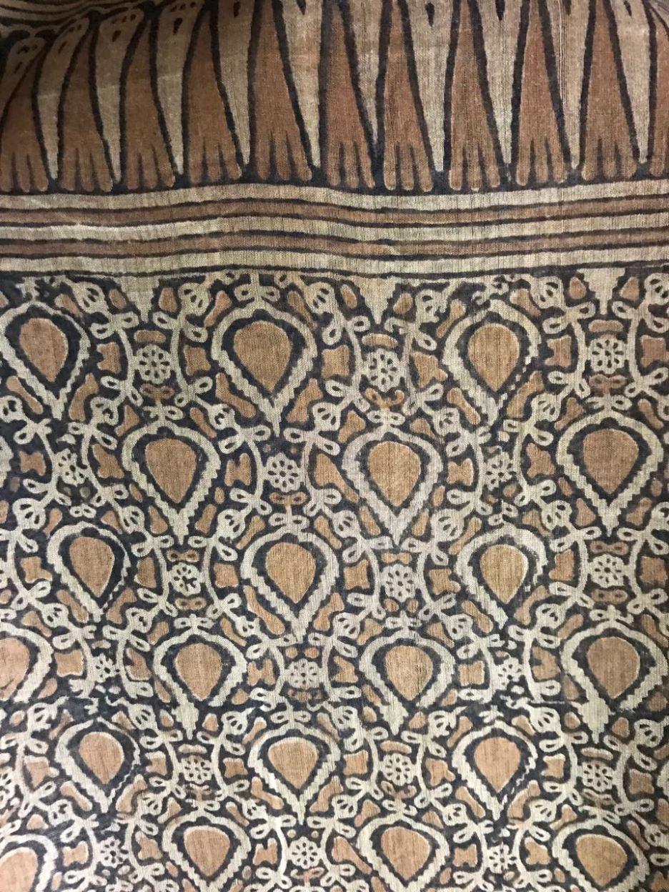 Kodali Karuppur saree _typical motif